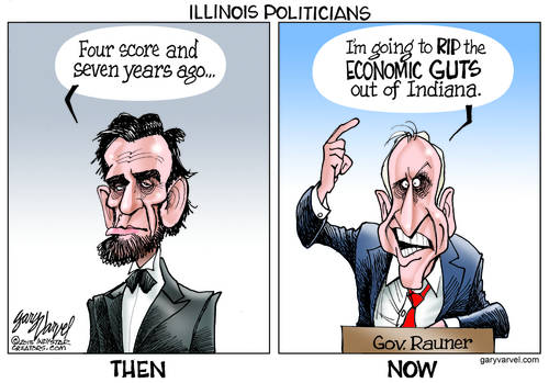 The Changing Face Of Politics In Illinois Gets Uglier Over Time, Along With The Rhetoric