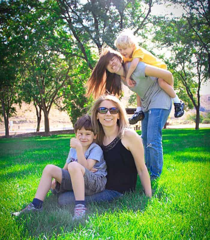 family lawn