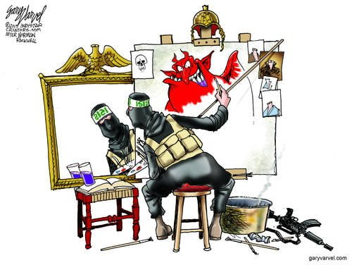 ISIS Paints A Self Portrait And It Clearly Reflects What They Are