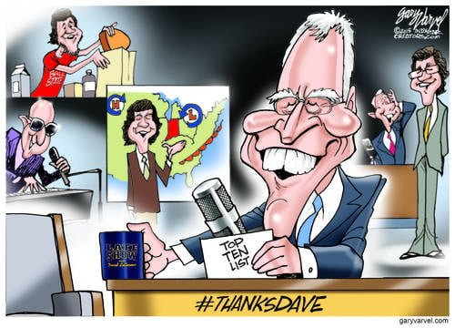 How Do You Really Say Goodbye After 33 Years? With A List! #ThanksDave