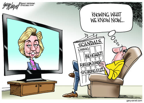 The Face Of Innocence Appears On The TV Screen Again, No Mention Of Benghazi Or Emails