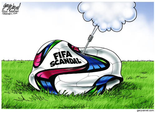 FIFA Scandal Takes The Air Out Of That Round Football: Idiots!