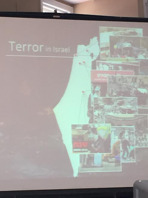 June 7 2015 Community event Israel in Terror