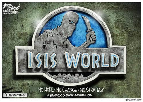 From The People Who Brought You ISIS, Rated R, No Hope, No Change, No Strategy