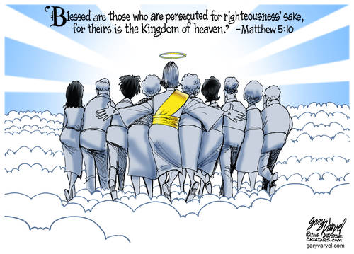 Blessed Are Those Who Are Persecuted For Righteousness Sake