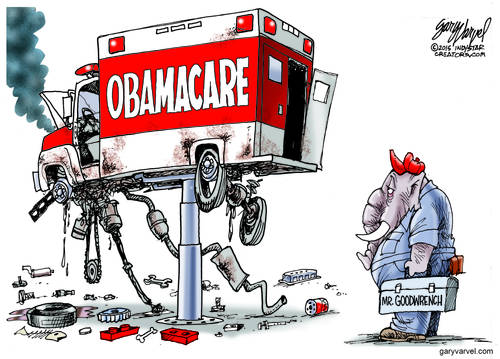 The Obamacare Ambulance Seems To Be In Need Of A Complete Overhaul - Expensive!