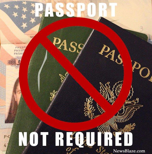 passport not required
