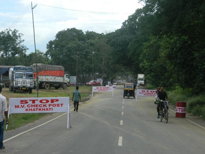 Khatkati Motor Vehicle check point