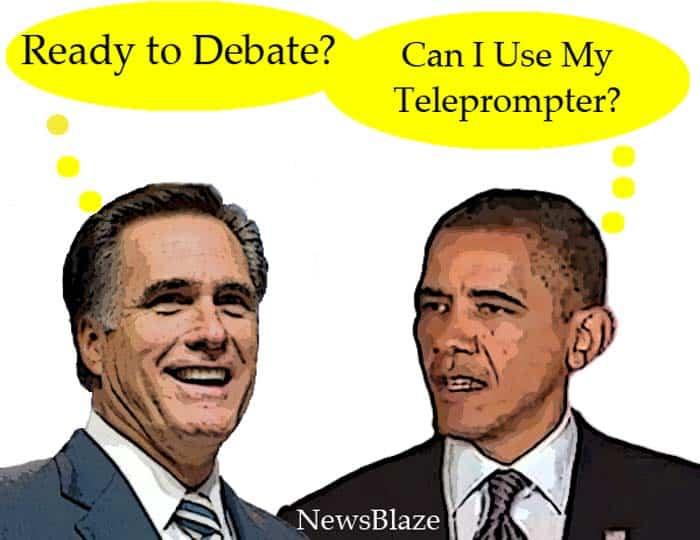 Romney Obama debate