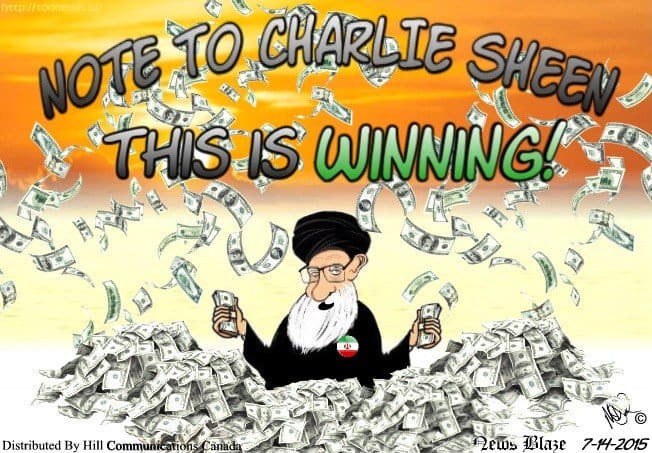 ayatollahs win cartoon