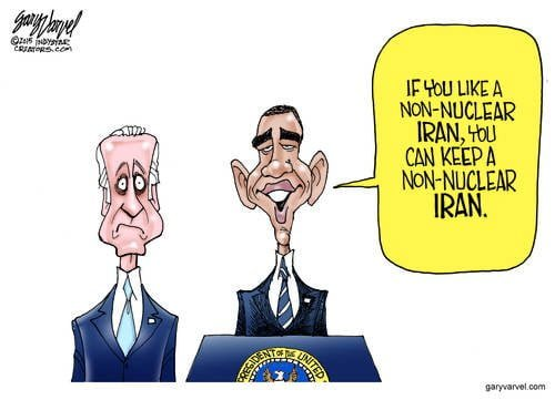If You Want A Non-Nuclear Iran, You Can... Joe Has Heard This Story Before