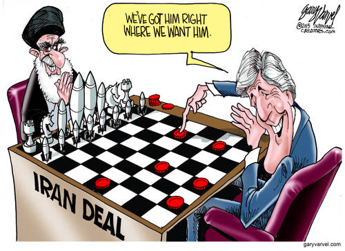 Kerry Plays A Game With The Ayatollah, Oblivious To The Iran End-Game