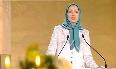 Mrs. Maryam Rajavi, President elect of the Iranian Resistance