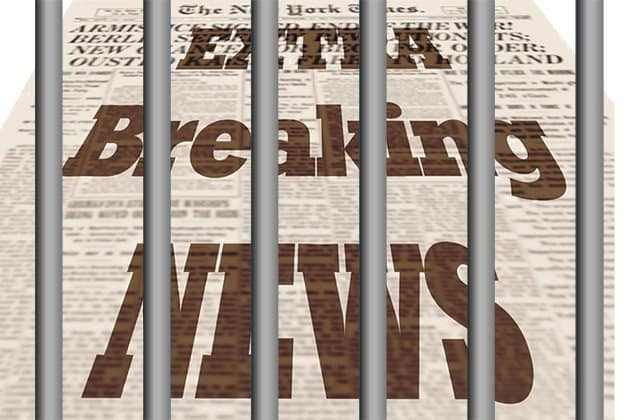 newspaper in jail