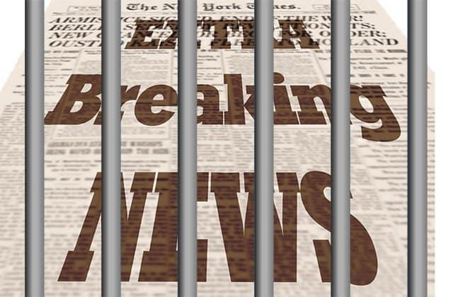 newspaper in jail