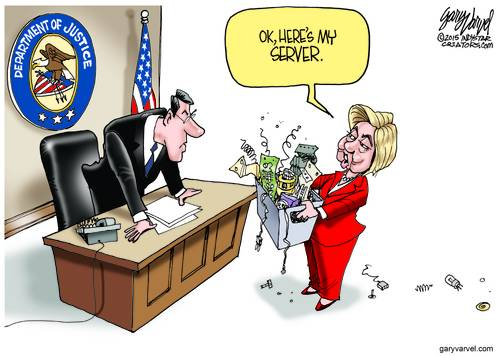 Hillary Clinton Finally Delivers Her Server To The Department Of Justice