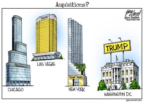 Donald Trump Has His Name On Buildings All Over The USA - Is Washington DC Next?