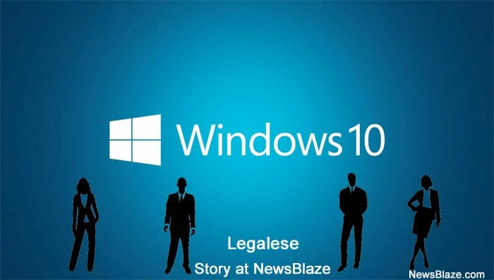 windows10 legalese