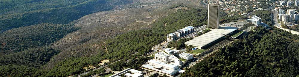 Arial view, University of Haifa