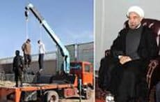 rouhani and hangings
