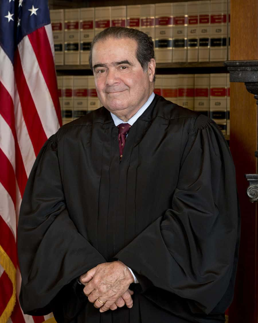 Antonin Scalia, Supreme Court justice.