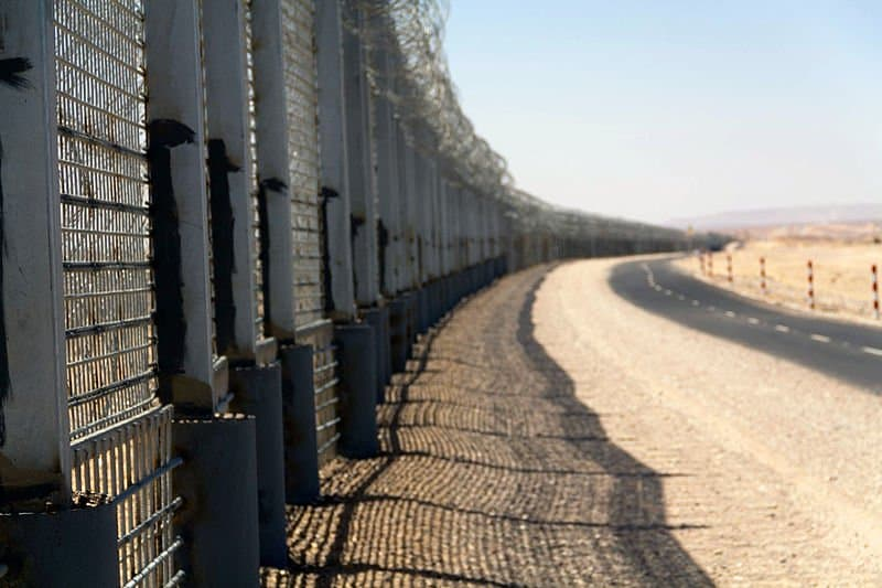 Israel Egypt Barrier