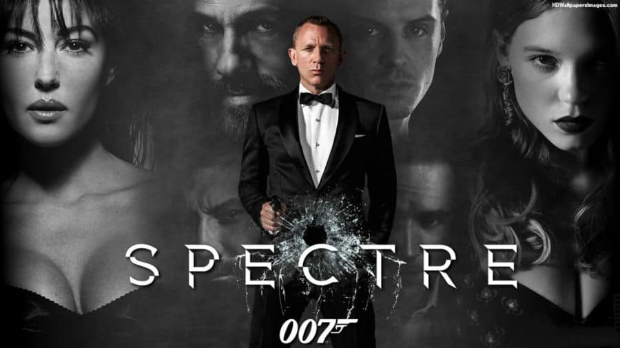Spectre Movie 2015 James Bond Image.