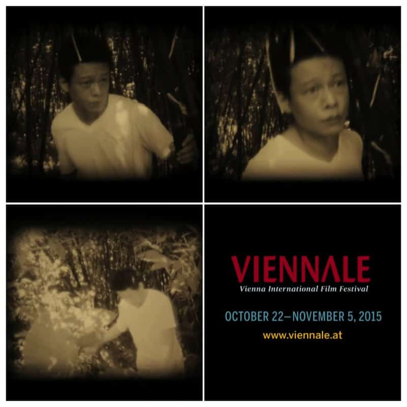 Poster for Viennale international film event in Vienna