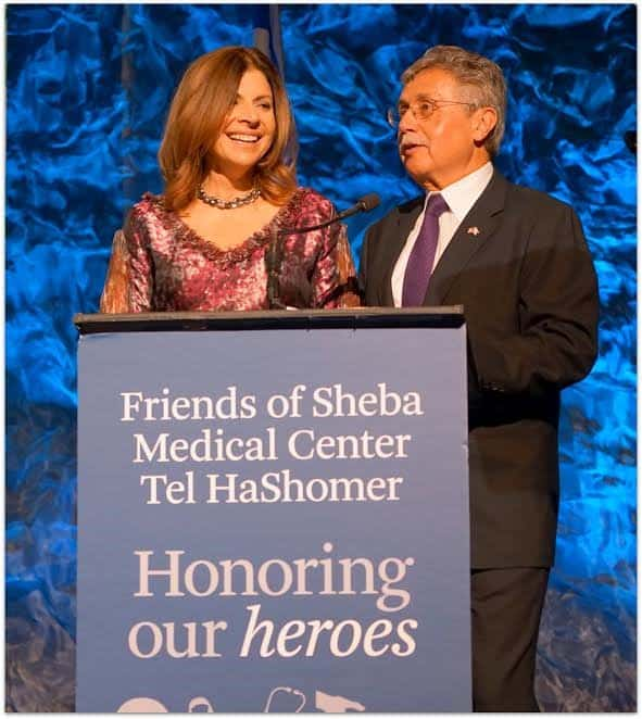 Co chairs Rosanne Ziering and Steve Hitter