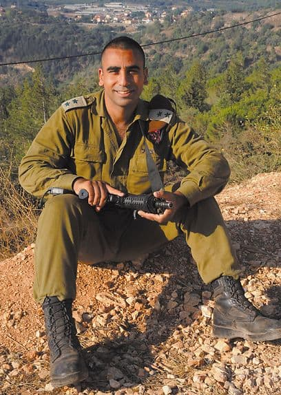 Lieutenant Colonel Shai Siman in better days