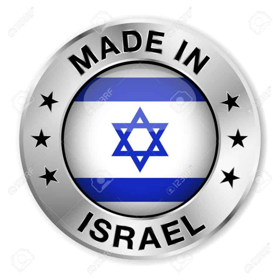 Made In Israe label