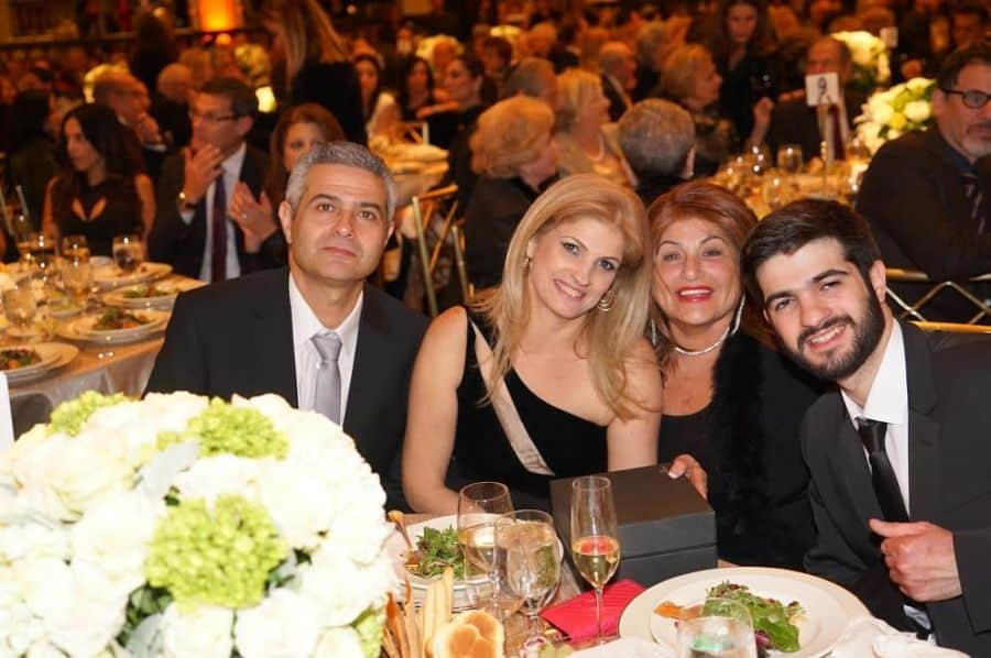 Hero Adiel Levy guest Genia Varsha Anat and Uziel Levy Adiels parents