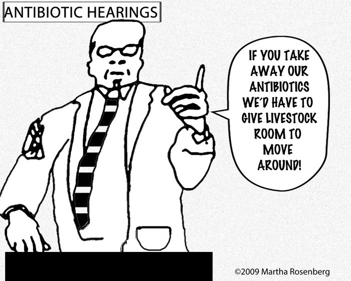 antibiotics hearings