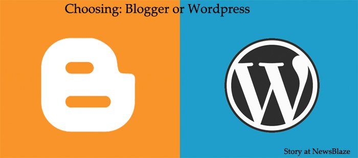 Template Apps, e.g. blogger or wordpress