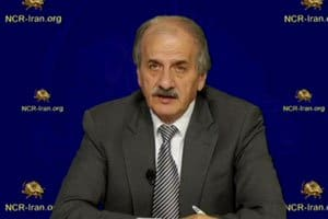Mr. Mehdi Abrishamchi, Chairman of the Peace Committee of the National Council of Resistance of Iran