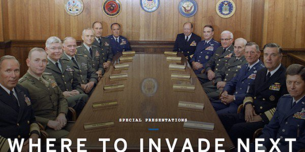 Where to Invade Next poster.