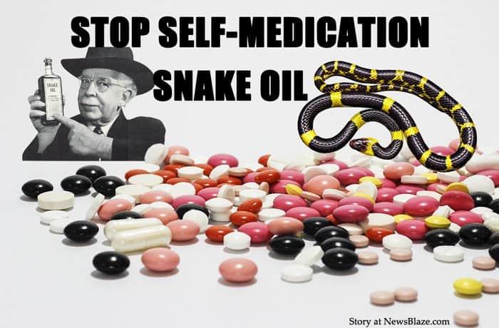 Medication snake oil.