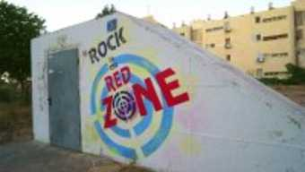 Sderot rock red zone.