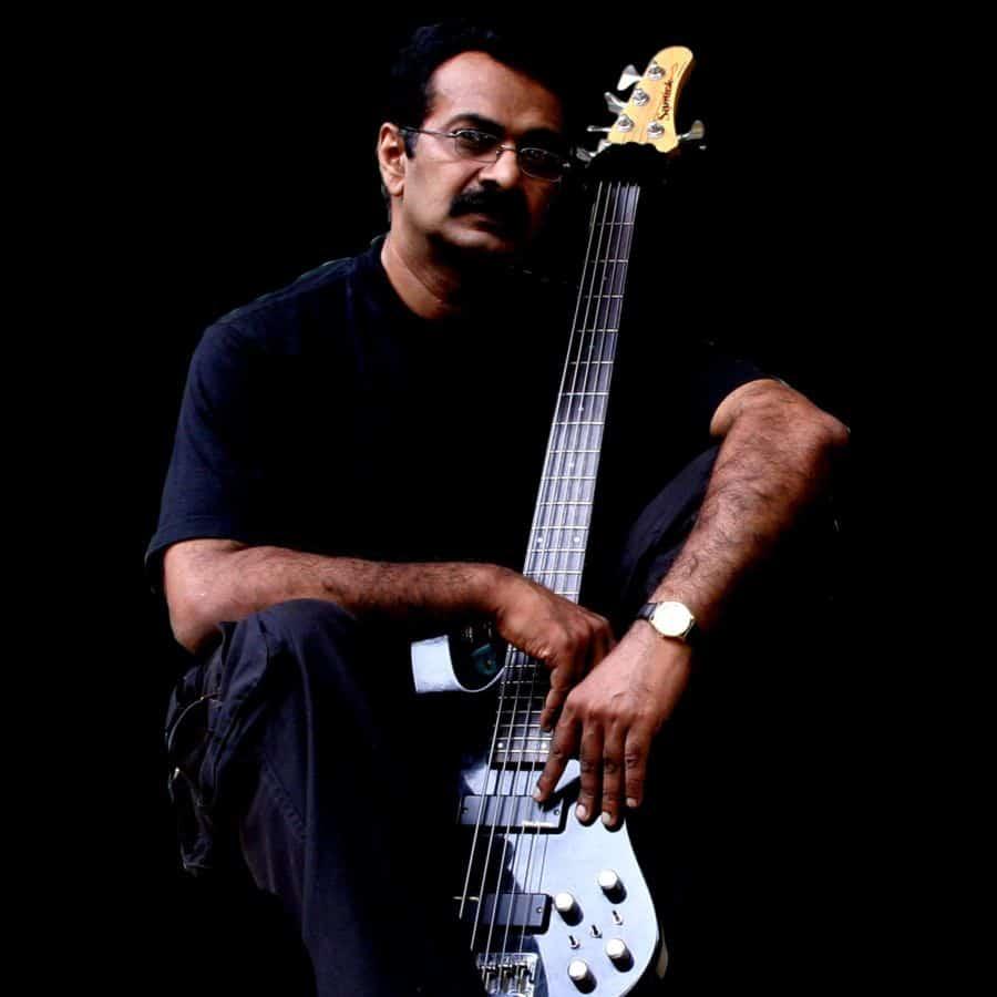 Jayen Varma bass player