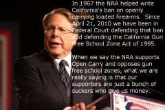 NRA Head Wayne LaPierre gun ban.