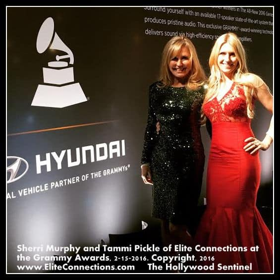 Elite Connections Sherri Murphy and Tammi Pickle at the Grammys