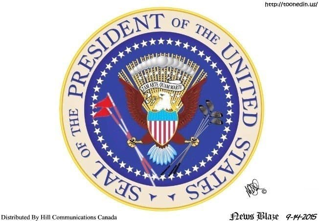 new POTUS seal
