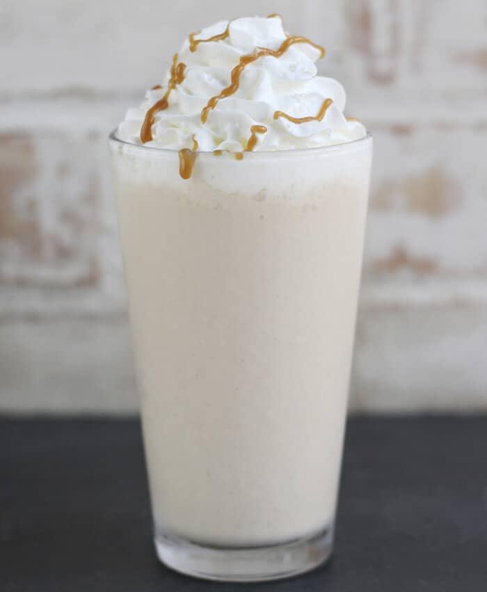 caramel sea salt shake
