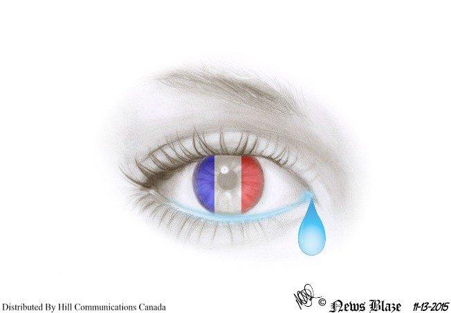 a teardrop for France