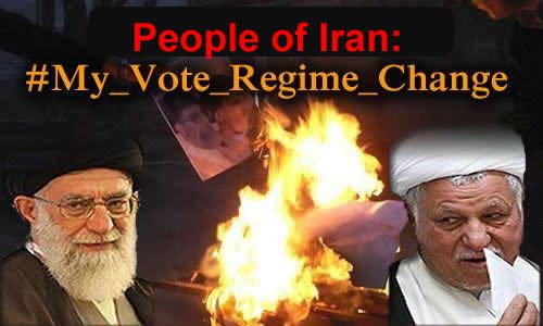 iran vote regime change