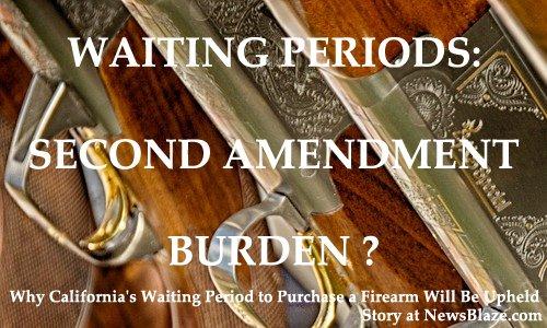 second admendment burden
