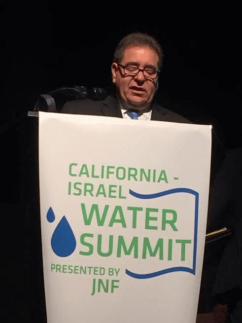 Speaker Russel Robinson, Jewish National Fund CEO.