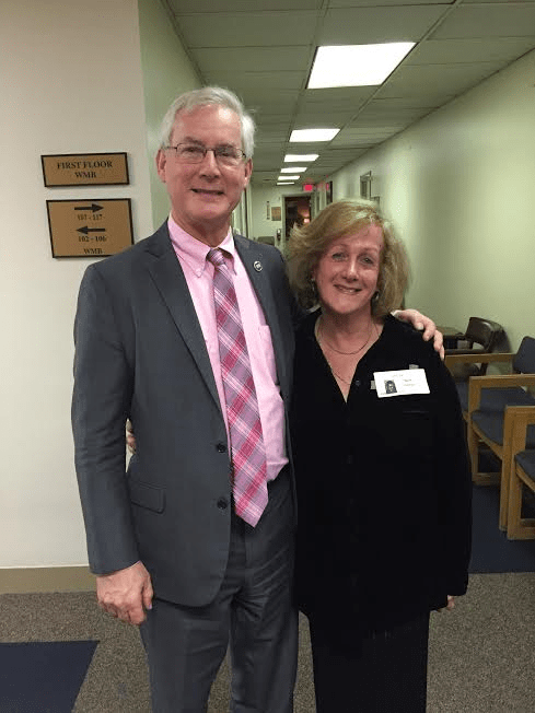 Tennessee Representative David Alexander with Nurit Greenger C.H.I.P Founder/President-February 24, 2016