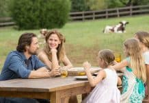 scene from Miracles from Heaven.
