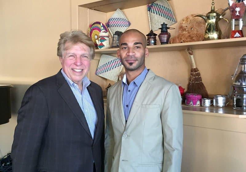 Pete Allman and Chef Nayif